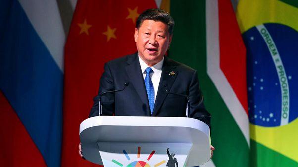 China's Xi congratulates Zimbabwe's Mnangagwa after disputed vote
