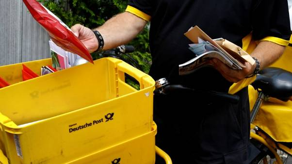 Deutsche Post customers more worried about hard Brexit than trade wars - CEO