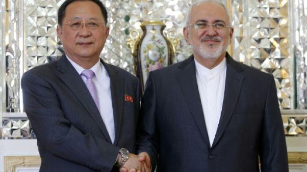 Le chef de la diplomatie nord-coréenne en Iran