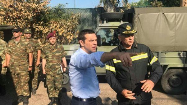 Incendies en Grèce : Tsipras s'engage à lutter contre les constructions illégales