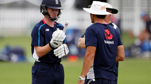 Cricket - Pope ready to emulate England team mate Curran