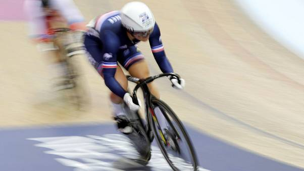 Track cycling - Shmeleva foiled by youngster Gros in track finale