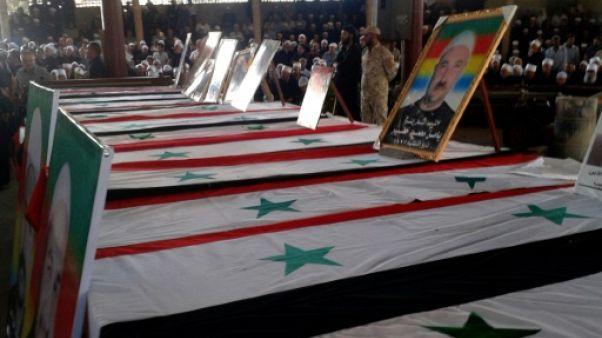 Pour tenter un retour en force en Syrie, l'EI renoue avec ses sinistres tactiques