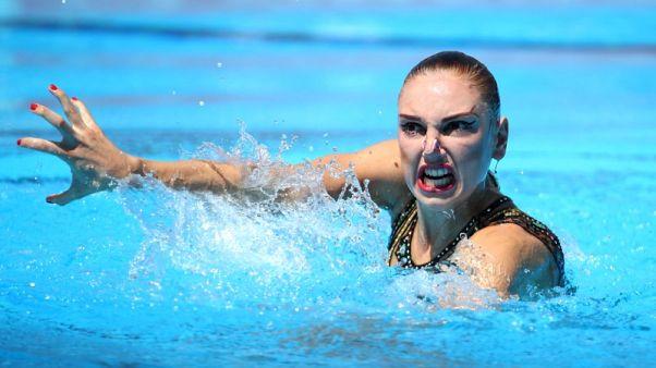 كولسنيشينكو تحقق لقبها الرابع في السباحة التوقيعية ببطولة أوروبا
