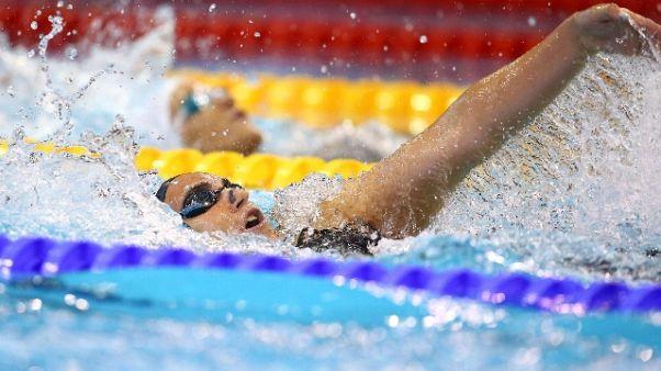 Europei nuoto, Zofkova bronzo 100 dorso