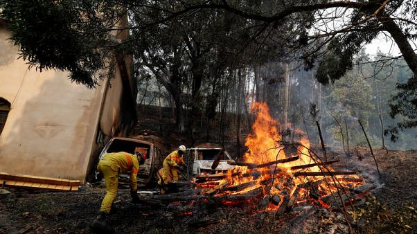 Portugal's wildfire moves south towards tourist coastal spots