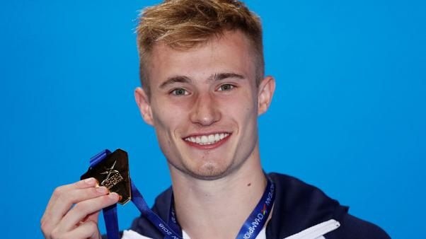 Diving - Laugher leads British golden double in Euro diving