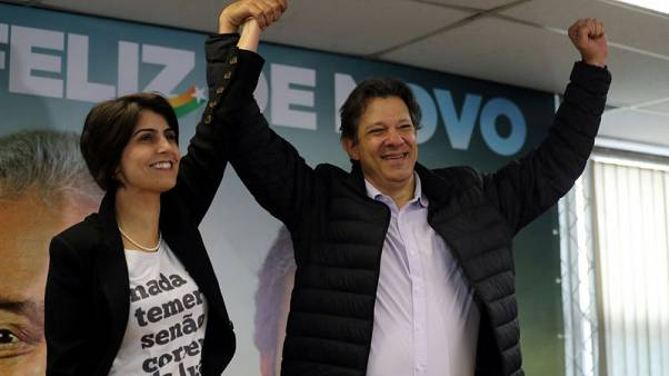 Brazil communist says she and Haddad can win race if Lula barred