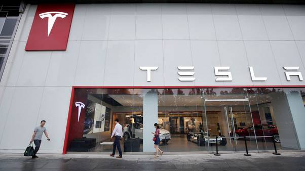 Saudi sovereign fund PIF has bought a below 5 percent stake in Tesla - source