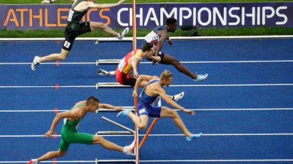 Athlétisme: Ludvy Vaillant qualifié pour la finale du 400 m haies