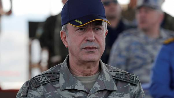 Turkish, U.S. defence ministers discuss defence deals, Syria, counterterrorism - broadcasters