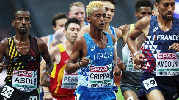 Europei: Crippa di bronzo nei 10mila