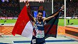 Athlétisme: le Français Morhad Amdouni champion d'Europe du 10.000 m