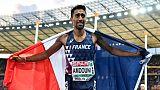 Athlétisme: Amdouni s'éclate, grosses claques pour Mayer et Vicaut