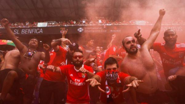 Ligue des champions: Benfica assure, l'Ajax tenu en échec au 3e tour préliminaire aller