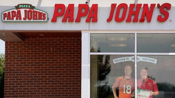 Papa John's earnings forecast slips on public spat with founder