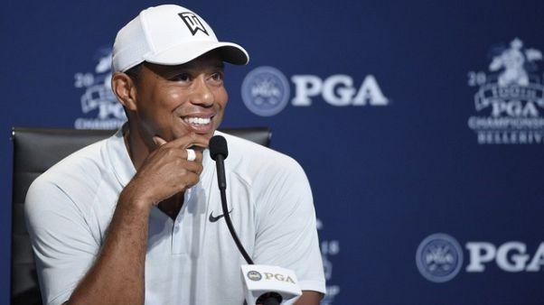 Woods' world dominates PGA Championship build-up