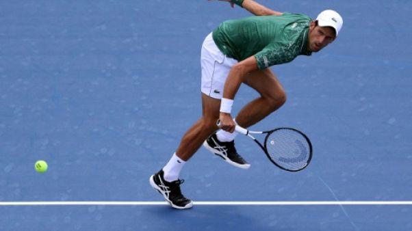 Tennis: Djokovic solide, Wawrinka renversant à Toronto