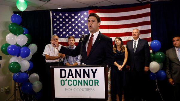 Trump-backed Republican leads close U.S. House race in Ohio
