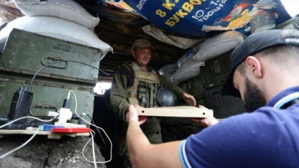 Une pizza sur le front ? En Ukraine, des vétérans livrent aux soldats