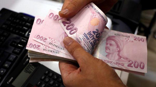 الليرة التركية تنخفض قبيل محادثات حكومية مع مسؤولين أمريكيين