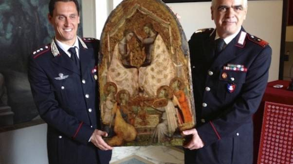 Ritrovato bassorilievo rubato 40 anni