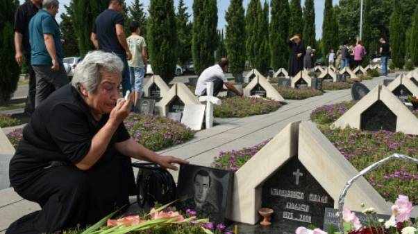 """La Géorgie commémore les 10 ans de la """"guerre éclair"""" contre la Russie"""