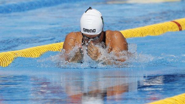 Nuoto, Castiglioni in finale 50 rana