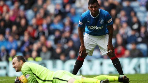 Soccer - Rangers striker Morelos has red card rescinded