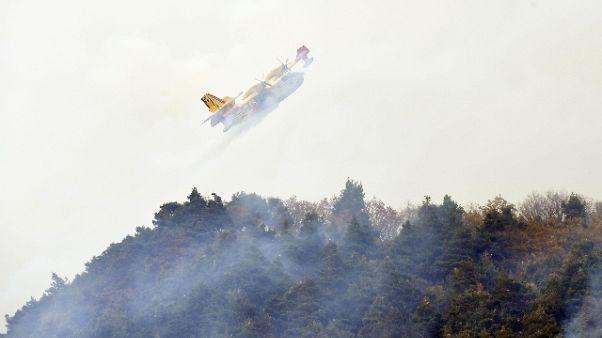 Incendi, da giugno -90% interventi aerei