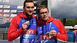 Natation: Reymond en argent et Fontaine en bronze au 5 km en eau libre