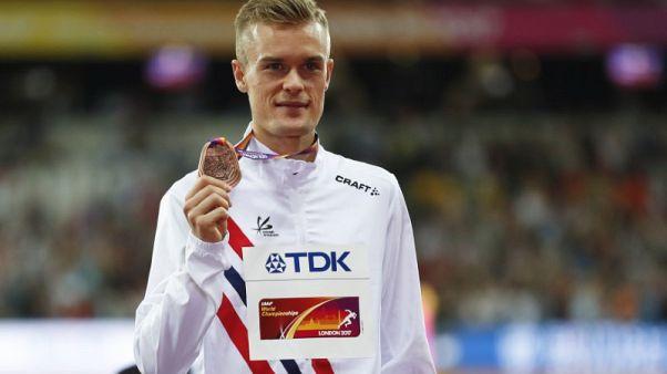 Athletics - Ingebrigtsen boys reach 1,500m final after scare