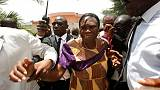 Ivory Coast's Simone Gbagbo leaves detention after amnesty