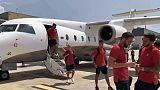 Sbarca a Cagliari l'Atletico Madrid