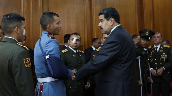 Venezuela set to scrap lawmakers' immunity after drone explosions