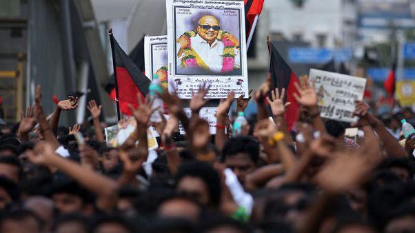 Two die in stampede at funeral of Indian Tamil leader
