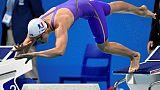 Euro de natation: Hénique en finale avec le 2e chrono du 50 m papillon