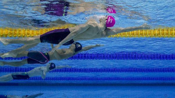 Europei nuoto: Restivo bronzo 200 dorso