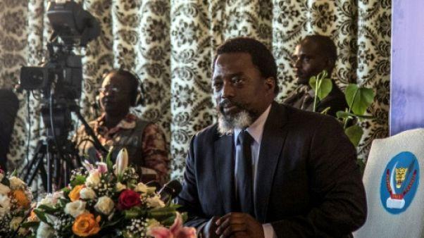 Joseph Kabila à Kinshasa le 26 janvier 2018