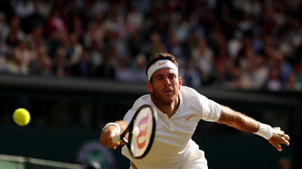 Tennis - Del Potro withdraws from Toronto event with wrist injury