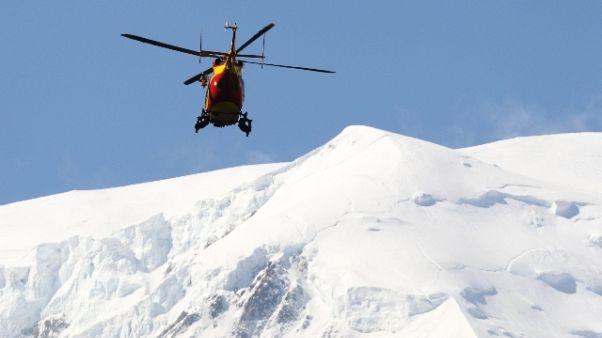 Tre italiani dispersi sul Monte Bianco