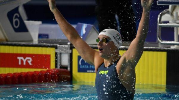 Euro de natation: cinquième titre d'affilée pour Hosszu