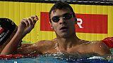 Euro de natation: la démonstration de Rylov au 200 m dos