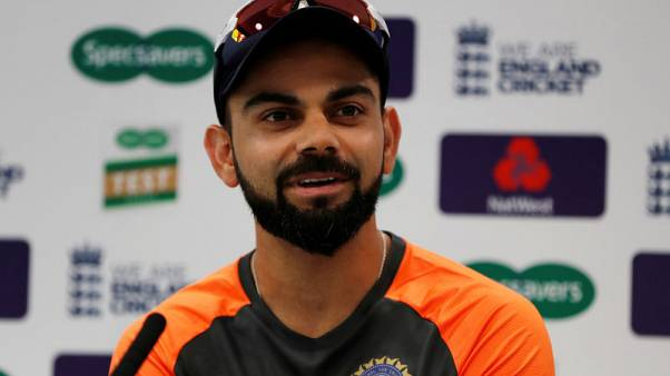 Cricket - Kohli calls for composure from India's top order at Lord's