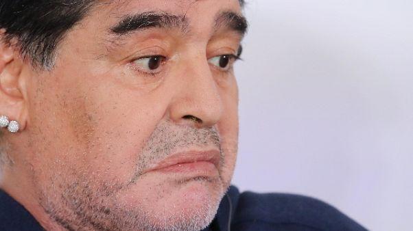 Maradona può far causa a ex moglie