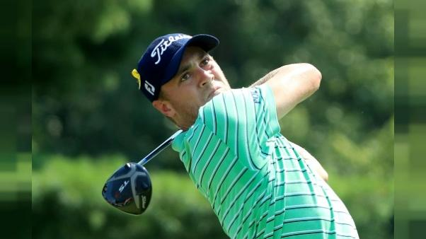 Justin Thomas au Bridgestone Invitational le 5 août 2018 à Akron (Ohio)