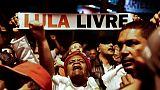 Le premier débat présidentiel montre un Brésil divisé, Lula grand absent