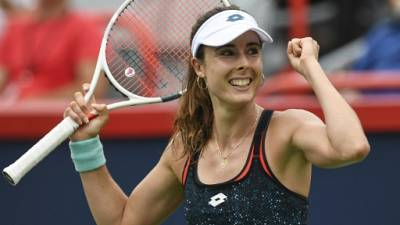 Tennis: Kerber chute face à Cornet, Sharapova continue de briller, à Montréal