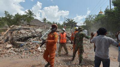 Indonésie: nouveau séisme de magnitude  5,9 à Lombok