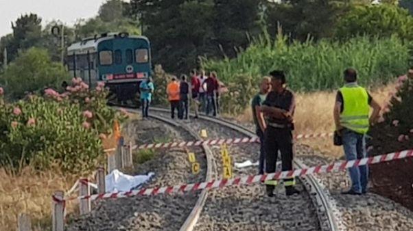 Ancora grave madre bimbi uccisi da treno